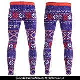 "93 Brand ""Ugly Winter"" Grappling Tights - Holiday Edition"